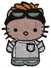 Scientist Kitty Embroidery brother free embroidery designs machine designs