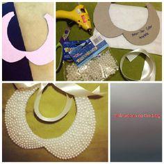 DIY : Peter-Pan collar necklace