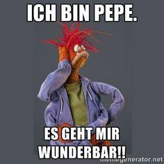 Pepe The King Prawn - Ich bin Pepe. Es geht mir wunderbar!!