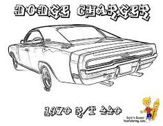 Dodge Charger Coloring Pages Cool Dodge Charger Coloring Pages 01  Coloring Pages  Pinterest .