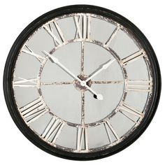 The Echo Wall Clock from Urban Barn is a unique home décor item. Urban Barn carries a variety of Clocks and other products furnishings. Great for my living room! A little smaller than the Old Station Wall Clock. Unique Home Decor, Home Decor Items, Clock Decor, Wall Decor, Clock Wall, Wall Art, Room Accessories, Decorative Accessories, My Living Room