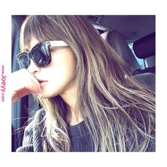 Love Hair, Grey Hair, Hair Designs, Sunglasses Women, Hair Makeup, Hair Color, Hair Beauty, Actresses, Long Hair Styles