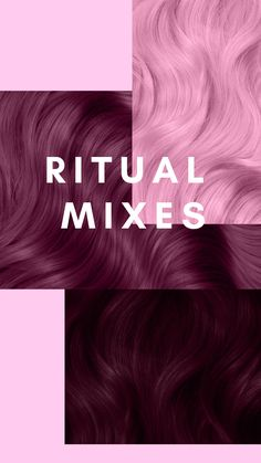 WE have mixes with our shade Ritual that can take you from dusty rose to deep burgundy. Read on! Artic Fox Hair, Arctic Fox Hair Dye, Black Hairstyles With Weave, Weave Hairstyles, Dusty Pink Hair, Dusty Rose Hair Color, Deep Burgundy Hair Color, Arctic Fox Haarfarbe, Hair Color Swatches
