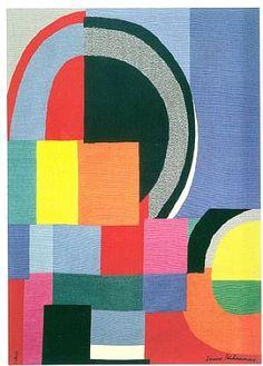 Sonia Delaunay - née en 1885 - rétrospective au Musée d'art moderne à Paris jusqu'à février 2015