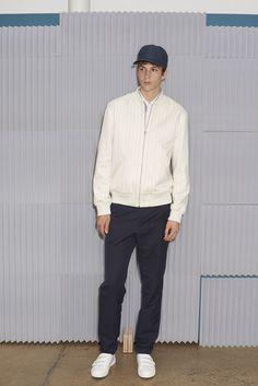 Sports luxe | A.P.C. Spring 2016 Menswear - Collection - Gallery - Style.com