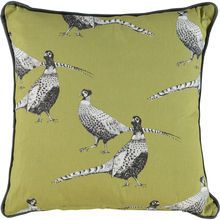 Green Pheasant Cushion