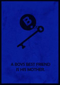 Minimalistic poster for Bates Motel!