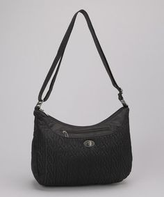 Take a look at this Black Charm Crossbody Bag by baggallini on #zulily today!