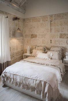 ✔ 30 luxury farmhouse master bedroom decor ideas for comfortable bedding 69 24 Beige Bed Linen, Linen Duvet, Shabby Chic Duvet, Chic Bedding, Bohemian Bedroom Decor, Farmhouse Master Bedroom, Cool Beds, Luxury Bedding, House Design