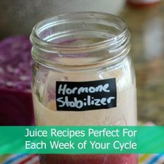 Juice recipes to help you feel good any time of the month.