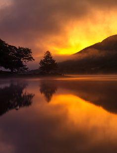 Loch Voil near Balquhidder, Central Scotland.  Photo by Kenny MacIntosh ©