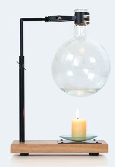 The Essential Oil burner by Page Thirty Three draws reference to a classic yet refined science theme. Each Essential Oil burner comes with a test er bottle of Australian grown lavender Oil and an Australian made beeswax candle. Essential Oil Burner, 100 Pure Essential Oils, Oil Candles, Beeswax Candles, Wax Warmers, Oil Burners, Lavender Oil, Home And Family, Pure Products