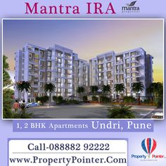 New Age Living For Extra Ordinary Lifestyle Mantra IRA by Mantra Properties Visit for details at http://www.propertypointer.com/mantra-ira/undri/pune