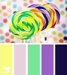 design seeds green purple Miahs room