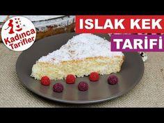 Islak Kek Tarifi   Hindistan Cevizli Islak Kek Nasıl Yapılır   Kek Tarifleri   Kadınca Tarifler - YouTube