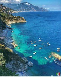 Conca dei Marini é uma comuna italiana da região da Campania, província de Salerno, Itália.