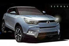 Ssangyong Tivoli Compact SUV to Embark at Geneva Auto Show Crossover Cars, Car Buying Guide, Car Guide, Peugeot 2008, Volvo, Next Year, Motor Diesel, 2015 Cars, Autos
