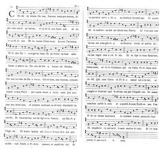 Partituras e Vídeos de Canto Gregoriano 26