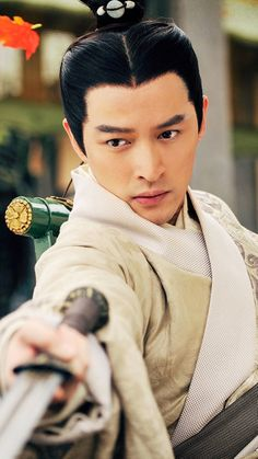 风中奇缘 胡歌. 2015 Chinese TV drama Ballad of the Desert starring Hugh Hu Ge