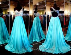 100BL097260339-AQUA... Stunning One Shoulder Gown with Low Back and Flowing Skirt. Gorgeous and ONLY at Rsvp Prom and Pageant... http://rsvppromandpageant.net/collections/long-gowns/products/100bl097260339-aqua