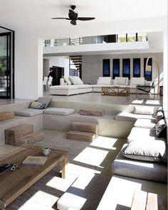 Schöner Wohnen, Moderne Einrichtung, Conversation Pit, Wohnzimmerentwürfe, Wohnzimmer  Ideen, Hütte Wohnzimmer, Formale Wohnzimmer, Haus Interieu Design, ...