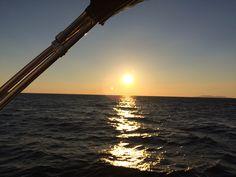 Naplemente az Adrián / Ocean Sailing SE (www.oceansailing.meder.hu)