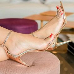 Only Stiletto Sandals: Photo Open Toe High Heels, Hot High Heels, High Heels Stilettos, Stiletto Heels, Pumps, Beautiful High Heels, Gorgeous Feet, Pies Sexy, Sexy Legs And Heels