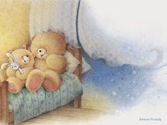 Forever friends in bed Friend Cartoon, Bear Cartoon, Tatty Teddy, Love Bears All Things, Teddy Bear Pictures, Baby Painting, Friends Image, Friends Wallpaper, Cute Teddy Bears