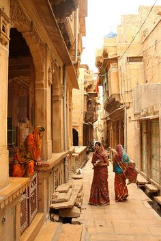 jaisalmer, india - The Yellow City Jaisalmer, We Are The World, People Of The World, Wonders Of The World, What A Wonderful World, Beautiful World, Beautiful Places, Beautiful Beautiful, Beautiful Buildings