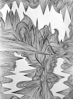 Abstract illustration by lena Öberg