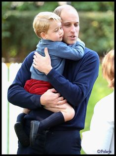 William hugging George at the children's party in B.C. 9-29-16.