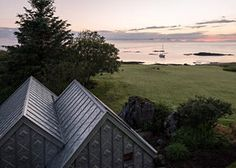 This Zinc-Covered 'Twin Cabin' Is So Strange, So Satisfying | Curbed