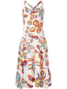PETER PILOTTO Floral Print Dress. #peterpilotto #cloth #dress