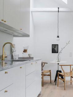 Kitchen In small loft.