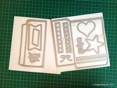 """1 Stanzform = 4 Tüten – Anleitung/Tutorial für die Thinlits """"Mini Leckereientüte"""" - Papierfee - Zauberhaftes aus Papier"""