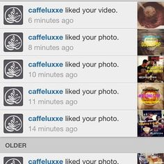 The best part of waking up... Is @Caffe Luxxe in my feed!