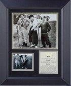 Three Stooges Golf My Way Framed Print