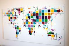Worldmap by Tannie M. Smith: The Smithocracy. Love it!