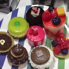 Food-shape candles @ FrancFranc