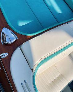 The colours we love. Discover more: www.bellininautica.it IG: bellininautica.it #aestethic #yacht #rivaaquarama #aquaramasuper #vintage #tourquoise #dolcevita #turchese #mahogany #wood #classicboat #classic #classy #elegance #design #upholstery #madeinitaly Riva Boat, Zip Around Wallet, Aqua, Classy, Colours, Upholstery, Design, Wood, Vintage