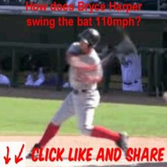 How does Bryce Harper swing the Bat 110mph?  This article is continued at www.venombaseball.net/blog