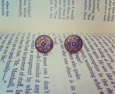 Gold Baroque Earrings by ShortPresents on Etsy, $12.25