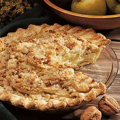 """Dairy State Apple Pie Recipe -This recipe is one of my family's favorites. With the cheddar and cream cheeses, the pie is very appropriate coming from """"America's Dairyland."""" —Ethel Mueller, Chilton, Wisconsin"""