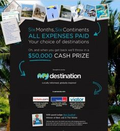 Win A Travel Of A Lifetime