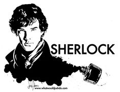 The League of British Artists: Benedict Cumberbatch: New Sherlock Posters (Britscene) Sherlock Poster, Sherlock John, Sherlock Holmes, Moriarty, Benedict Cumberbatch News, Sherlock Drawing, Stencil Printing, Mrs Hudson, Diy Canvas Art
