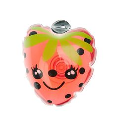 <P>Smell like strawberry fields with this cute shower gel. Shaped and painted like a strawberry the package features a push-in plug.</P><UL><LI>Pink<LI>Strawberry scented<LI>Push-in plug</LI></UL>