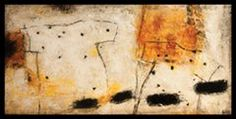 """Agnes Rathonyi """"Breeze"""".  30"""" x 60"""" x 2"""" Price: $3,500 Abstract expressionist paintings."""