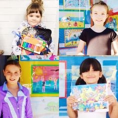 We want to thank ALL the kids that entered our Hoopers summer contests! They all did such a great job, colouring, painting and drawing such beautiful art work for us! 💕💕 This years winners of our summer 2016 contests Summer 2016, Colouring, Painting & Drawing, Giveaways, Art Work, Drawings, Healthy, Kids, Color