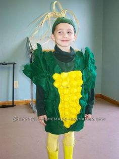 Coolest Ear of Corn Halloween Costume... This website is the Pinterest of costumes
