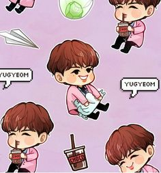Got7 Fanart, Kpop Fanart, Mark Jackson, Jinyoung, Got7 Yugyeom, Photo Illustration, Memes, Chibi, Kawaii